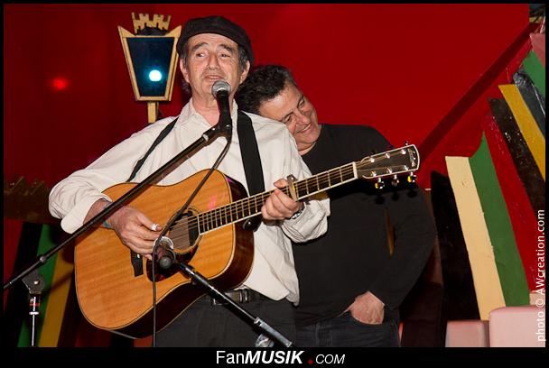 Hervé Cristiani et Phil Barney - 2 Mains Rouges - 26 mars 2012