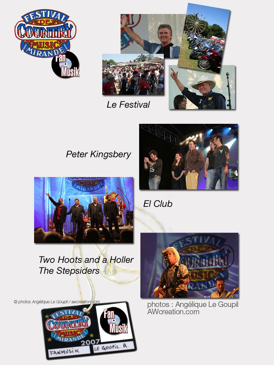 Festival Country Music Mirande - 12 & 13 juillet 2007, Mirande