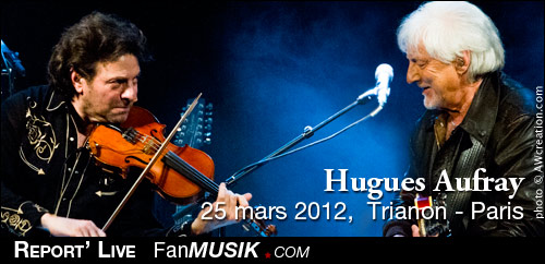 Hugues Aufray - 25 mars 2012 - Le Trianon, Paris