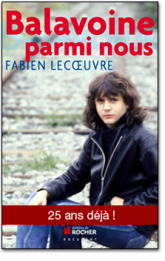 Livre - Balavoine parmi nous par Fabien Lecoeuvre