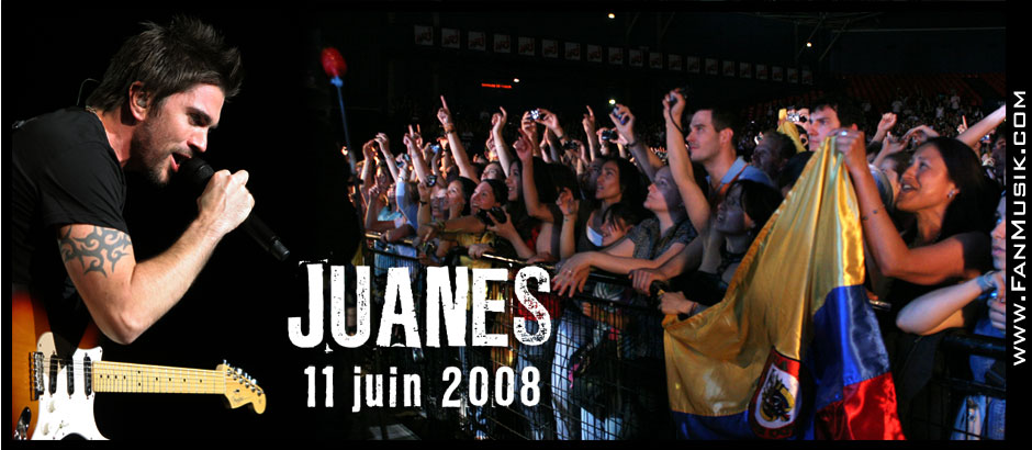 JUANES - 11 juin 2008 - Zénith, Paris