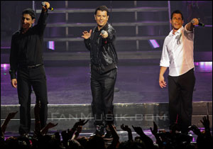 New Kids on the Block - 4 février 2009 - Zénith, Paris