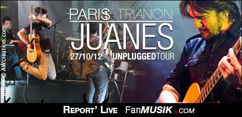 Juanes - 27 octobre 2012 - Trianon, Paris
