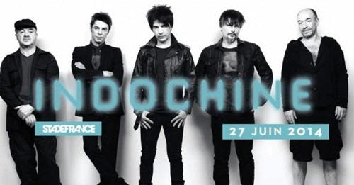 Indochine au Stade de France le 27 juin 2014 : les billets sont en vente !