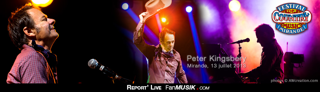 Peter Kingsbery, Festival de Country Music – 13 juillet 2013 – Mirande