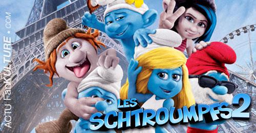 Les Schtroumpfs 2 au cinéma !