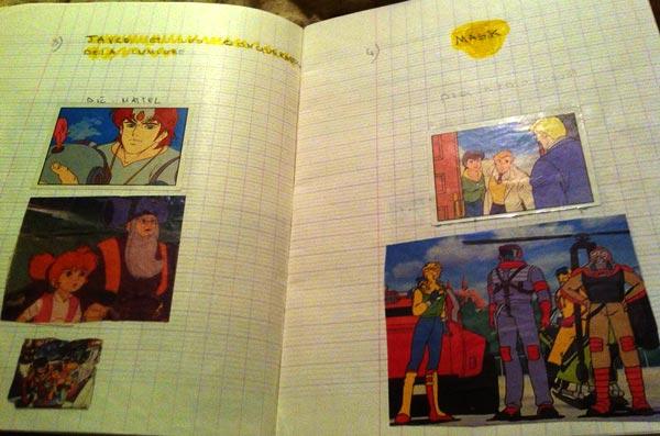 Cahier d'enfance de Nordine Zemrak