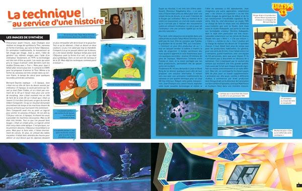 Double page Ulysse 31 - Les Séries de notre Enfance, Maroin Eluasti, Nordine Zemrak