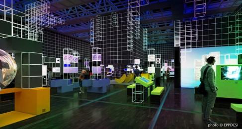 Jeu vidéo L'EXPO du 22 octobre 2013 au 24 août 2014 à la Cité des sciences et de l'industrie