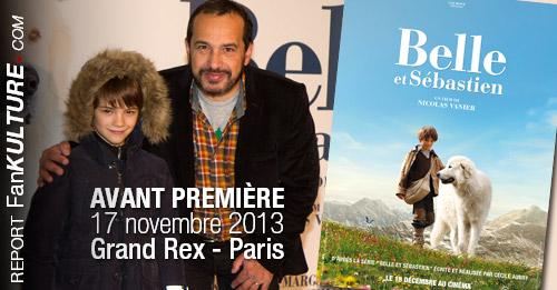 Avant Première Belle et Sébastien, 17 novembre 2013 au Grand Rex - Parisov
