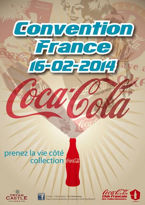 Convention Coca-Cola le 16 février 2014 à Disneyland Paris !