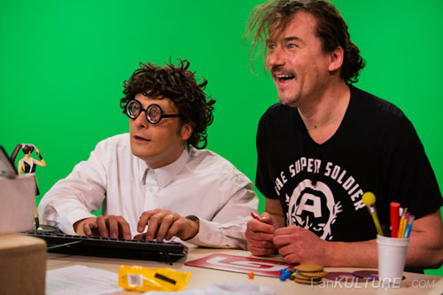 Marcus et Pierre en Geek - Retro Game One