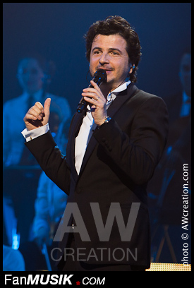 David Gategno, concert de Tony Carreira - 12 avril 2014 - Palais des Sports, Paris