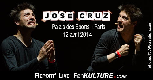 José Cruz - 12 avril 2014 - Palais des Sports, Paris