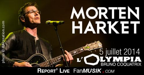 Morten Harket - 5 juillet 2014 - Olympia, Paris