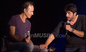 Jean-Jacques Goldman et Patrick Fiori - Ouveillan 2014