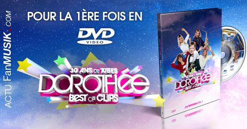 Les plus grands tubes de Dorothée pour la 1ère fois en DVD !