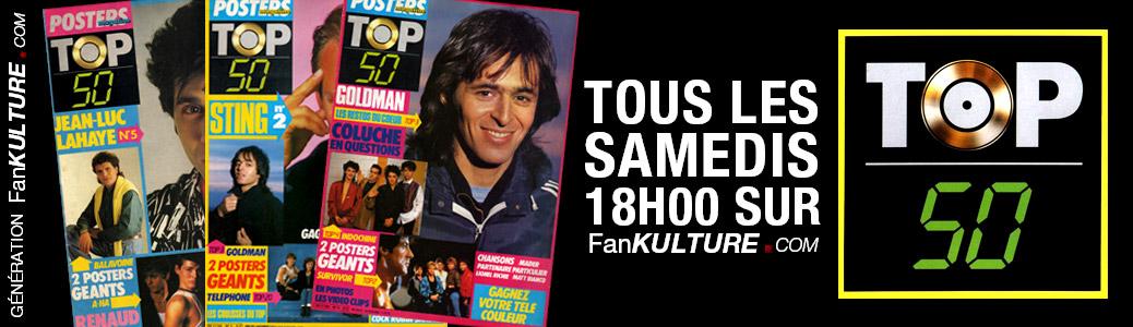 TOP 50 Magazine : Nouvelle rubrique sur FanMusik / FanKulture !