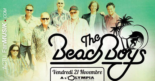 The Beach Boys le 21 novembre à l'Olympia !