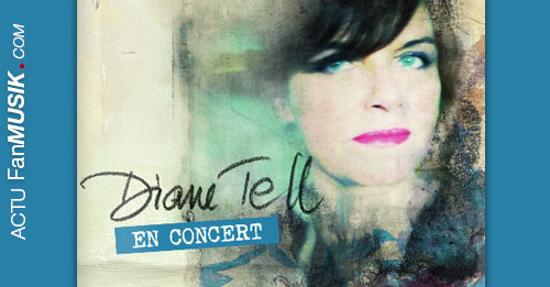 Diane Tell en concert le 14 novembre 2014 au Petit Journal Montparnasse (Paris)