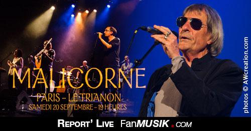 Malicorne - 20 septembre 2014 - Trianon, Paris
