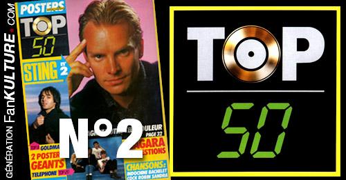 TOP 50 - N°2 - 17 mars 1986
