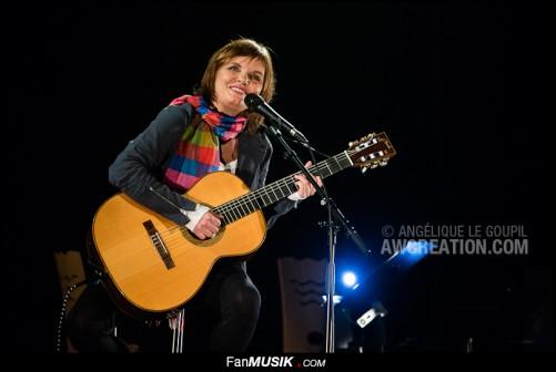 Diane Tell, le 30 novembre 2013 au Théâtre Traversière à Paris