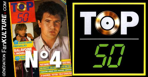 TOP 50 - N°4 - 31 mars 1986