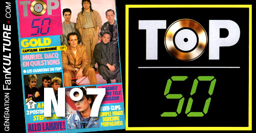 TOP 50 - N°7 - 21 avril 1986