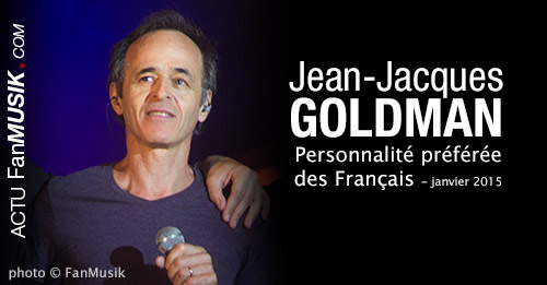 Jean-Jacques Goldman est toujours la personnalité préférée des Français