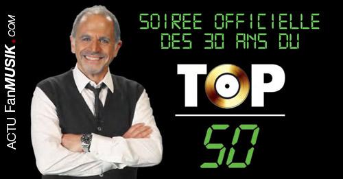 Soirée Officielle des 30 ans du TOP 50 dans les Cinémas en France !