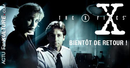 X-Files bientôt de retour sur vos écrans avec une Saison 10 !