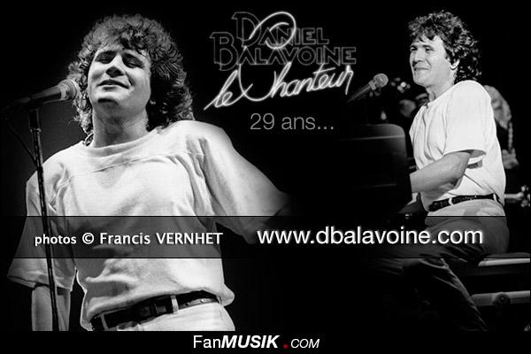 Daniel Balavoine, 29 ans déjà (14 janvier 1986 / 14 janvier 2014) photos Francis Vernhet