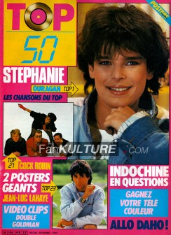 TOP 50 n°8 - 28 avril 1986 - Stéphanie, indochine, Goldman, Cock Robin