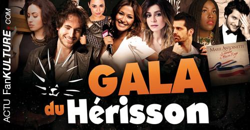 Le Gala du Hérisson, 14 mars 2015 à Ozoir-la-Ferrière avec Kyo, M. Miro, J. Zenatti…