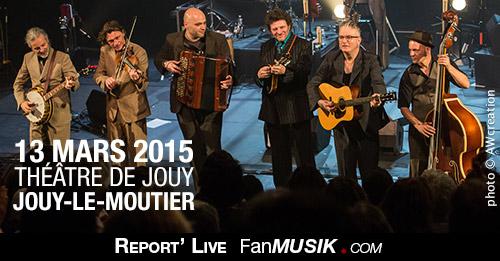 Sanseverino, 13 mars 2015 - Théâtre de Jouy - Jouy-Le-Moutier