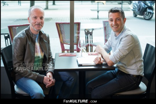 Ludovic Lestavel et Olivier Quéméner