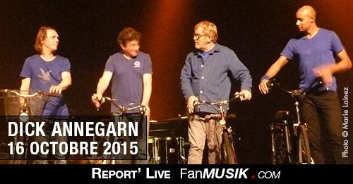 Dick Annegarn, 16 octobre 2015, Espace 1798 - Saint Ouen