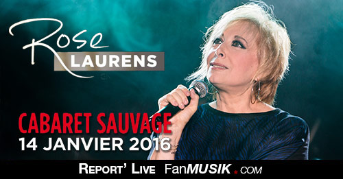 Rose Laurens, 14 janvier 2016, Cabaret Sauvage - Paris