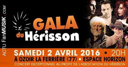 Gala du Hérisson : le 2 avril à Ozoir-la-Ferrière, un grand concert au profit de l'association du Hérisson