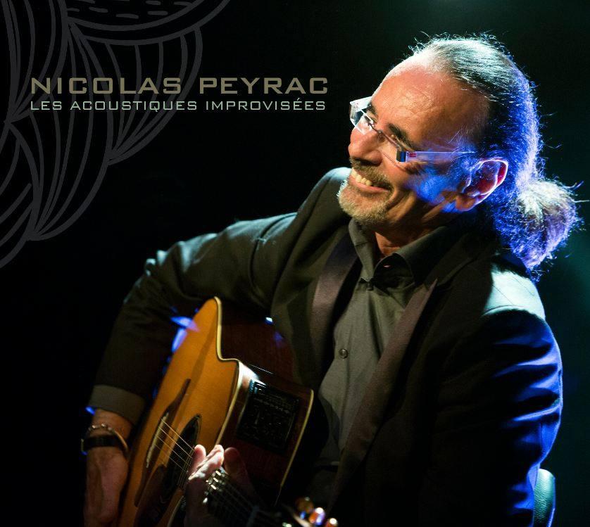 """Nicolas Peyrac """"Acoustiques improvisées"""""""