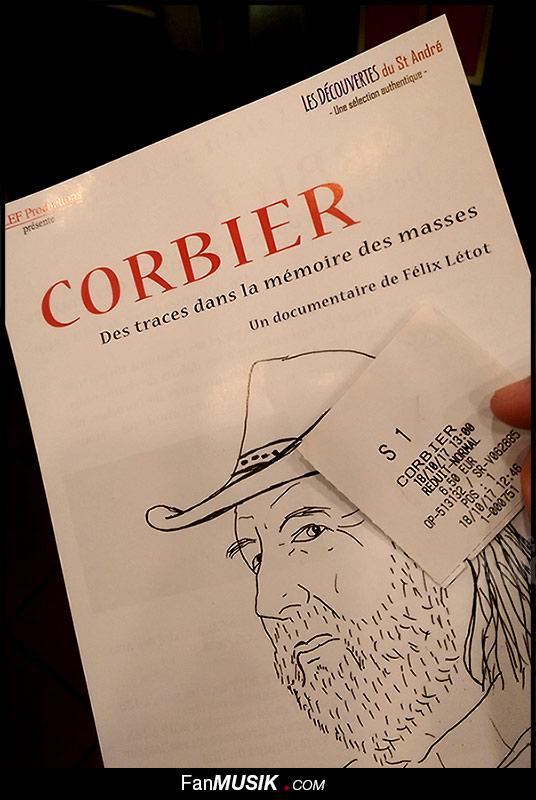 """Mercredi 18 octobre 2017, avait lieu la première du documentaire """"Corbier, Des traces dans la mémoires des masses"""" signé Félix Létot"""