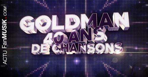 Goldman, 40 ans de Chansons, vendredi 26 janvier à 21h sur TF1