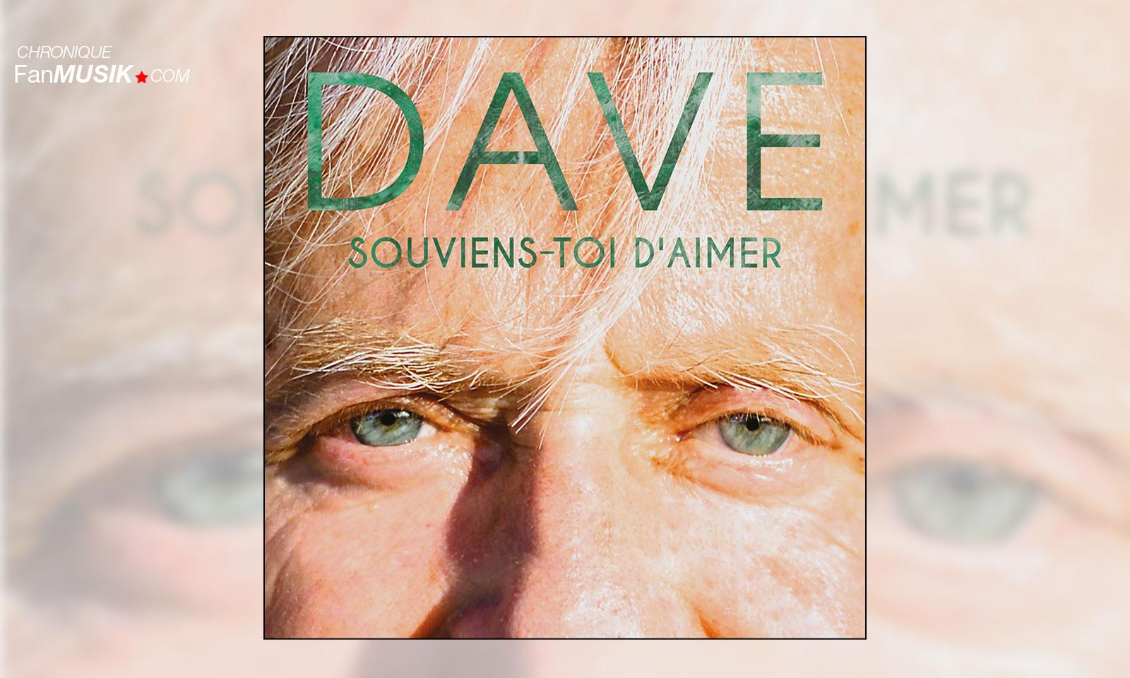 Chronique Souviens-toi d'aimer, Dave