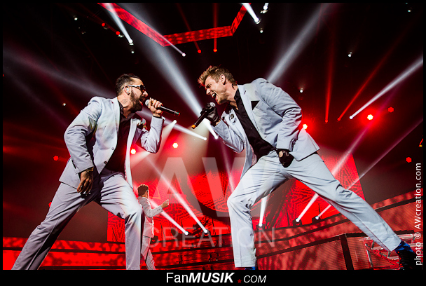 Backstreet Boys, A. J. McLean, Nick Carter