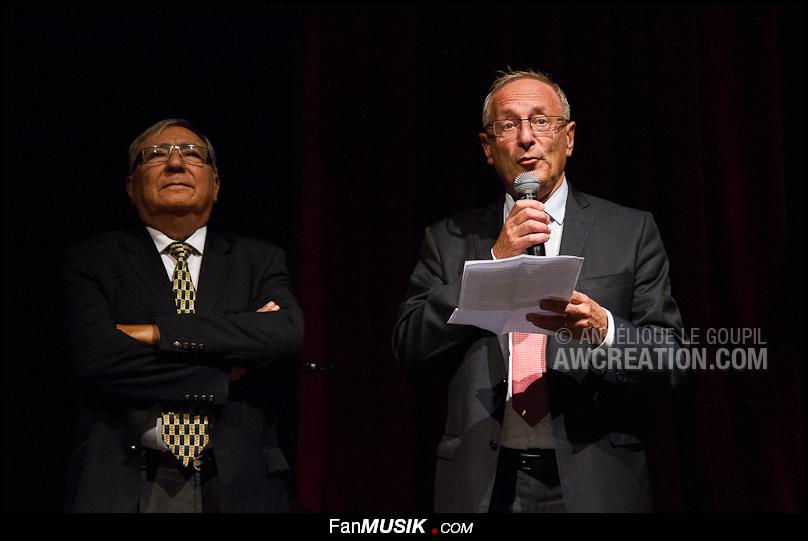 M. le Maire, Jean-Yves Sénat et Jean-Jacques Sotto