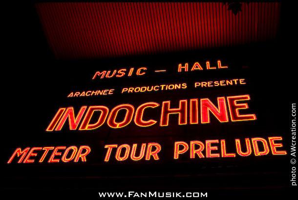 Indochine - 26 juin 2009 - l'Olympia, Paris
