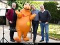 Ludovic Lestavel, Casimir, Olivier Quemener et Yves Brunier