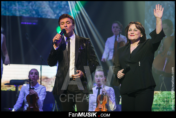 Tony Carreira et Lisa Angell