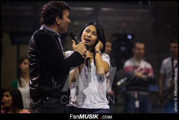Tony Carreira et Anggun